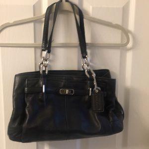 Coach medium leather handbag